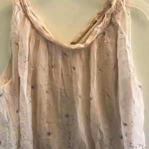73953bab225ee Anthropologie Tops - •Anthropologie• Elena Baldi Silk Floral Blouse